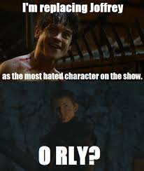 Ramsay Bolton Meme - season 6 will just be olly versus ramsay to see who is the most evil