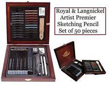 boldmere wooden artist sketching set art supplies ebay