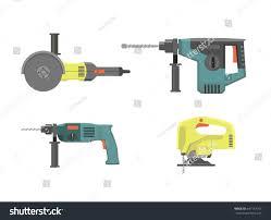 set construction tools home repair hand stock vector 647147167