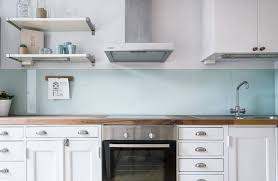 photos of kitchen backsplashes not your basic backsplash 9 beautiful non tile kitchen backsplashes