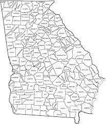 county map ga counties map