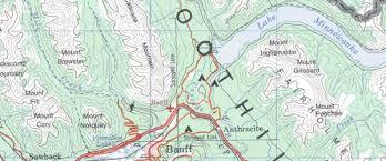 canada topographic maps custom printed topo maps