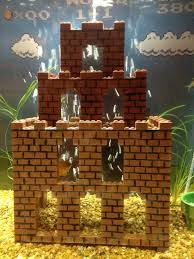 Super Mario Decorations Not Bad Lego Super Mario Level Aquarium Decorations Geekologie