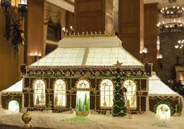 gingerbread architecture and edible biltmore