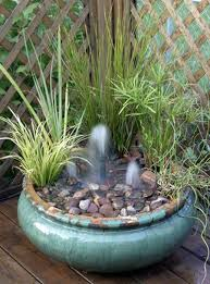 Mini Water Garden Ideas Big Ideas In Spaces Water Gardening In A Small Area Http