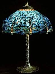 dragonfly tiffany lamp stained glass table lamp foter