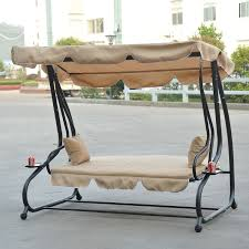 Swings For Patios With Canopy Patio Swings With Canopy And Cup Holders Home Outdoor Decoration