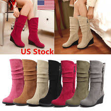 ebay womens winter boots size 11 womens wedge winter boot ebay