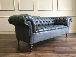 cheap chesterfield sofa goderich chesterfield fabric sofa in robinson of