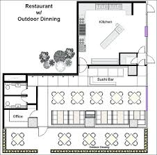 floor plan for a restaurant restaurant floor plan maker restaurant design software quickly