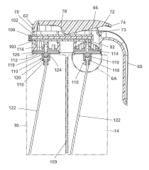 patent us8328118 manual sprayer with dual bag on valve assembly