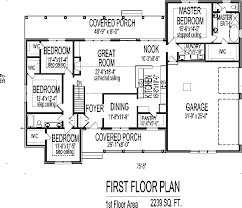 4 Bedroom Single Story Floor Plans 4 Bedroom House Plans And Cost Homeca