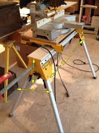 dewalt chop saw table mitre saw stand