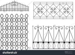 metal ornamental lattice stock vector 706244131
