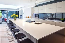 kitchen with island bench pendant lights for kitchen island bench with the linear light