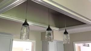 Glass Pendant Lighting For Kitchen Islands by Mason Jar Chandelier Rustic Chandelier Farmhouse Chandelier