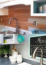 wood backsplash kitchen top 20 diy kitchen backsplash ideas