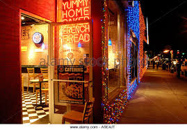Rochester Michigan Christmas Lights by Restaurant Window Christmas Lights Stock Photos U0026 Restaurant