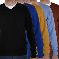 marks spencer mens long sleeve v neck casual cotton sweater
