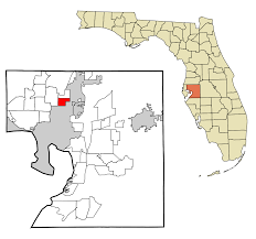 Tampa Zip Codes Map by University Hillsborough County Florida Wikipedia