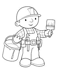 bob the builder coloring pages coloringsuite com