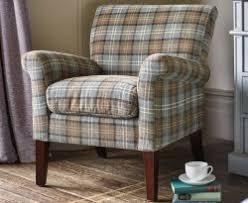 Tartan Armchairs Occasional Chairs 48 Hour Express Delivery Available