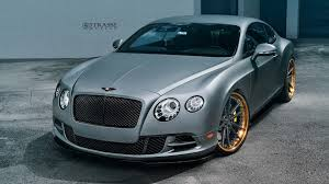 bentley custom dub magazine bentley continental gt speed on strasse wheels
