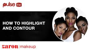 make up tutorial how to highlight and contour with zaron definer