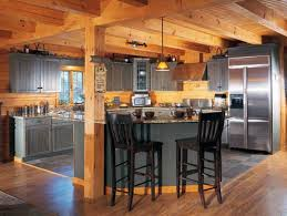 Small Post And Beam Homes Kitchen Island With Support Beams Ideas Need Rustic Lighting For