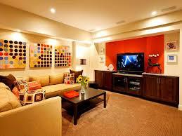 with stunning basement wall ideas stone basement media room design
