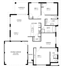 4 bdrm house plans simple house plan with bedrooms small floor plans brilliant 4