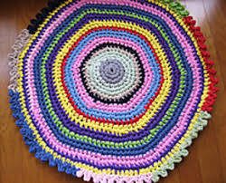 crochet rug patterns free 13 free crochet rug patterns from t shirt yarn