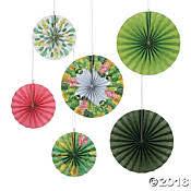 paper fan decorations hanging paper fans hanging fans fan decorations