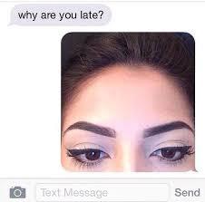 Bushy Eyebrows Meme - make up hacks shemazing