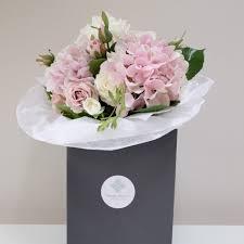 white hydrangea bouquet pink and white luxury hydrangea bouquet