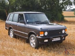 classic range rover 1994 range rover classic soft dash vogue tdi se auto grey