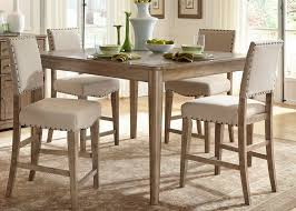rustic casual 5 piece gathering table set by liberty furniture rustic casual 5 piece gathering table set