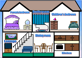 bedroom clipart inside house pencil and in color bedroom clipart