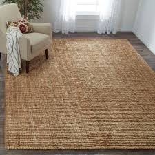 Thick Area Rugs Safavieh Casual Jute Woven Chunky Thick Rug 8 X 10