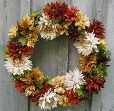beautiful floral door wreath ideas