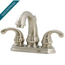 price pfister single handle kitchen faucet repair brushed nickel treviso centerset bath faucet gt48 dk00 pfister