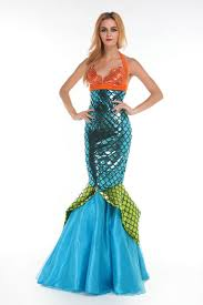 mermaid tails for halloween buy halloween custumes women mermaid tails dress party