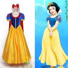 Halloween Costumes Snow White Aliexpress Buy Custom Snow White Princess Dress