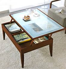 Rustic Storage Coffee Table Glass Storage Coffee Table Glass Top Rustic Storage Coffee Table