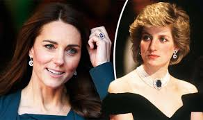 ring diana did the crown show kate middleton and diana s engagement ring is