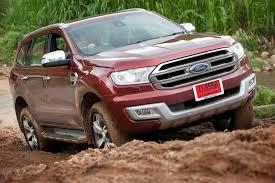 2016 Ford Everest Ford Everest Not A Threat To Prado Toyota Australia