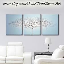 large wall art 3 piece canvas art paintings tree of life wall