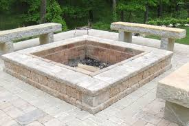 Firepit Brick Pits Brick Paver Showroom Of Ta Bay Pit Construction
