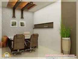 beautiful 3d interior office designs kerala home design and