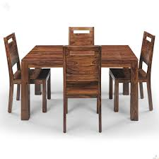 Dinner Table Chairs by Mckinley Royal Oak Sapphire Four Seater Dining Table Set 4